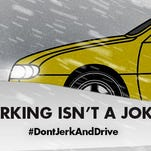 The South Dakota Department of Public Safety has pushed a social media campaign centered around the danger of jerking the wheel on icy roads.