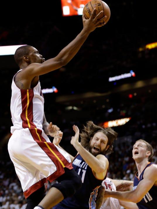 Bobcats Heat Basketball