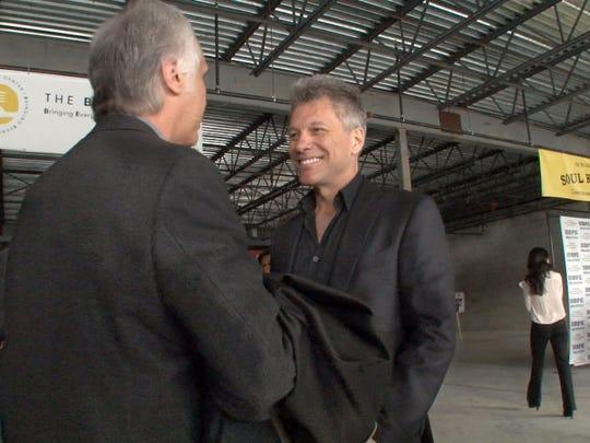 Jon Bon Jovi at the new BEAT Center in Toms River.