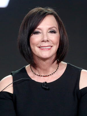 Marcia Clark speaks Sunday at a Television Critics Association panel on her Lifetime docu-series, 'Marcia Clark Investigates the First 48.'