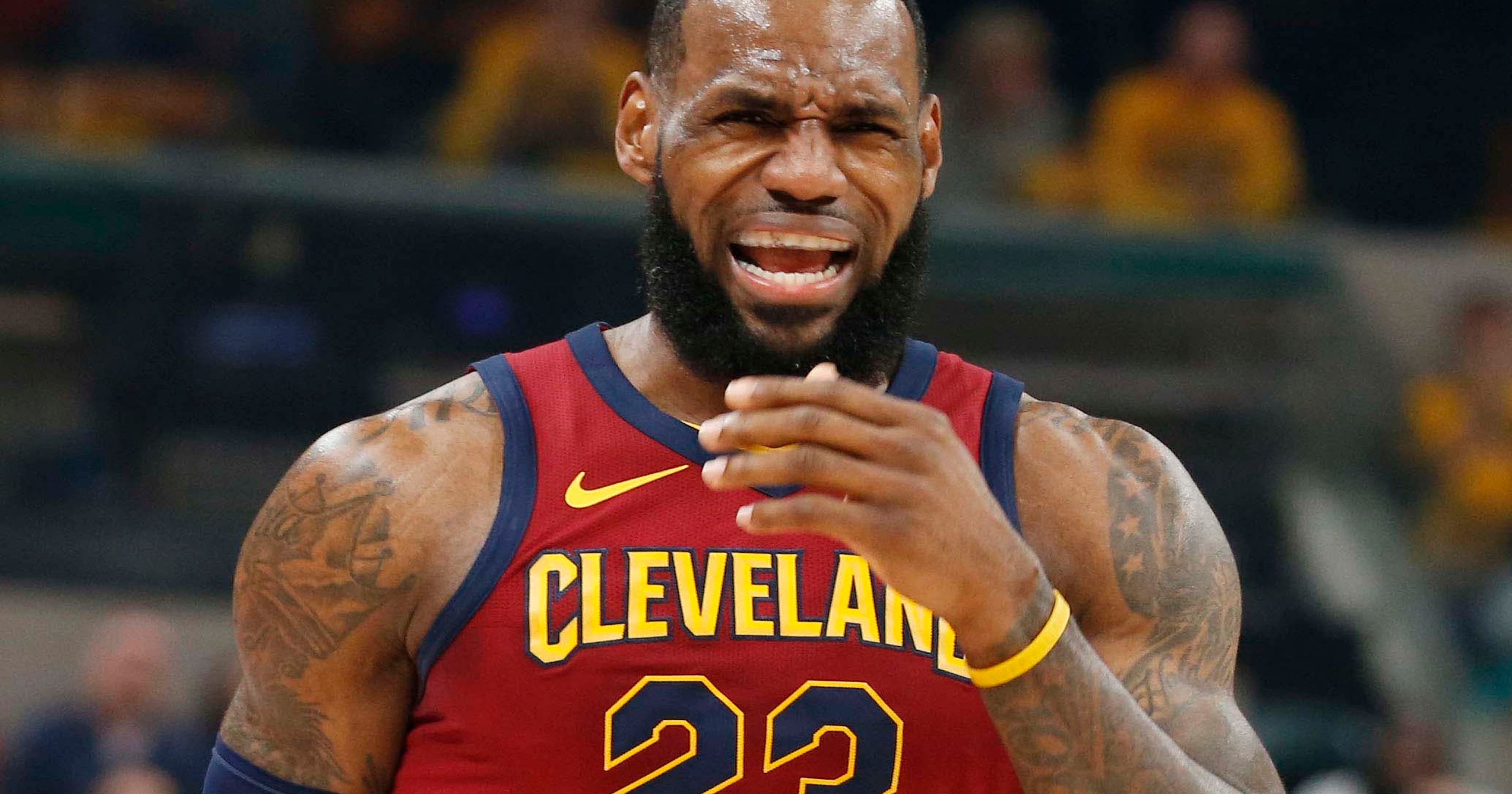 438c6d24c3d NBA playoffs  LeBron James and the Cavs need to stop it with the suits