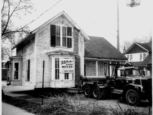 Irish House during Move