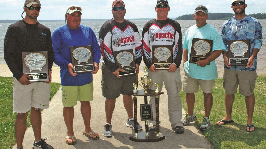 Lake area bass club wins 2016 best six for Local bass fishing clubs