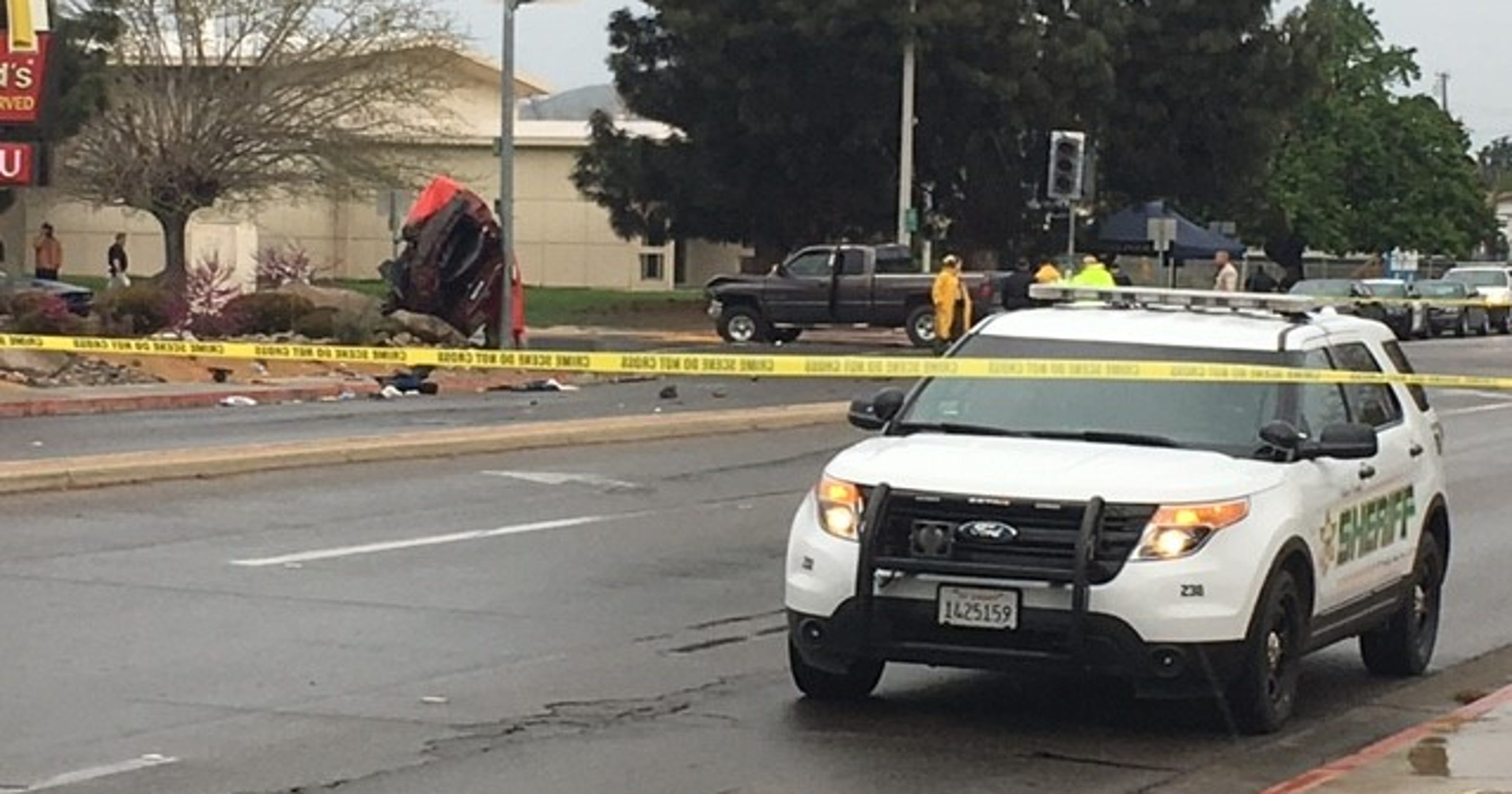 Two suspected gang members dead after high-speed chase