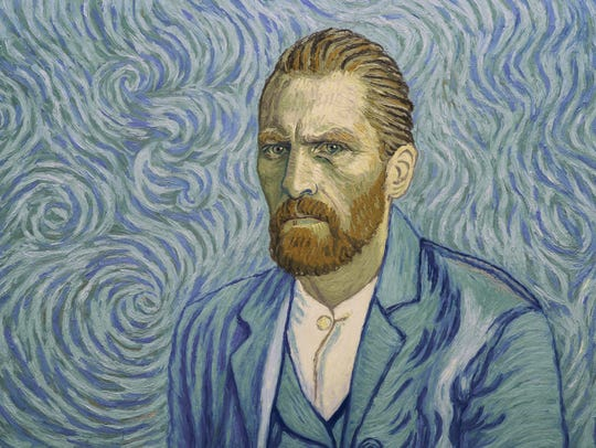 Vincent Van Gogh (Robert Gulaczyk) in the animated