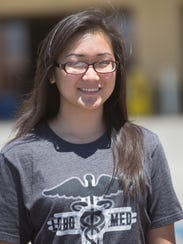 Connie Hu, a student currently enrolled in UNM's Combined
