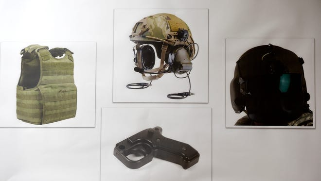 These images represent the more than $1 million in sensitive military equipment that was stolen and sold, according to an indictment.