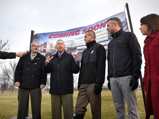St. Cloud Mayor Dave Kleis announced plans in November