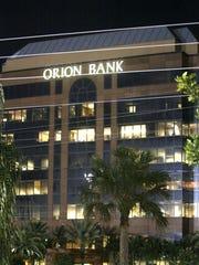 Orion Bank at the northeast corner of Goodlette-Frank Road and Golden Gate Parkway. / KEN LANE