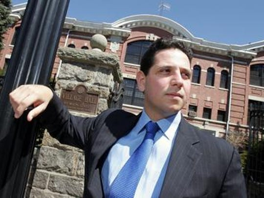 Tony Sayegh Jr., pictured in Tuckahoe in 2005, was appointed to a post at the Department of the Treasury by President Donald Trump, the White House announced on March 7, 2017.