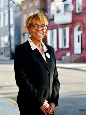 Carol Hill-Evans stands for a portrait on South Duke Street Thursday, Sept. 15, 2016. Hill-Evans, a York City Council member for nine years, is the Democratic candidate for the Pennsylvania legislature's 95th District seat.