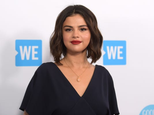AP PEOPLE SELENA GOMEZ A ENT FILE USA CA