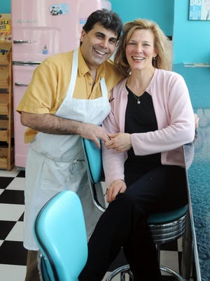 Frank Fasano are marking their seventh year as co-owners of their Arlington juice bar/restaurant, All Shook Up, which serves locally sourced and gluten-free items.