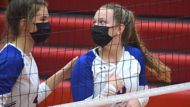 The Saugatuck volleyball team concluded its regular season on Thursday.