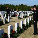 Photos: Wreaths laid at Barrancas National Cemetery