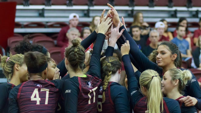 Colorado State swept FSU 3-0 in Tallahassee during the Home2 Suites by Hilton Tallahassee Seminole Tournament at Tully Gym. The Seminoles responded by beating TCU.