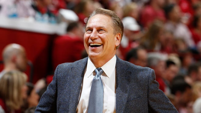 Michigan State men's basketball coach Tom Izzo, along with women's hoops coach Suzy Merchant and athletic director Mark Hollis, all received one-year contract extensions at the Board of Trustees meeting on Wednesday, June 21, 2017.