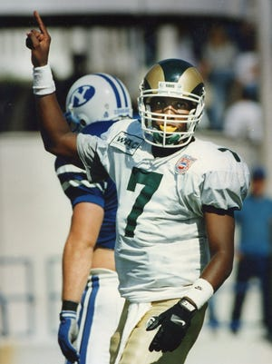 Quarterback Anthoney Hill led CSU to a 10-2 season and final No. 14 national ranking as a senior in 1994.
