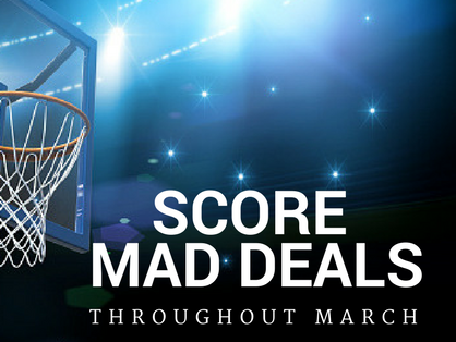 Throughout March, we'll offer Insiders bonus deals, events and extras. Check back daily!