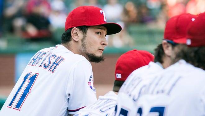 Yu Darvish has gone just 1-7 with a 4.98 ERA in his last 12 starts.