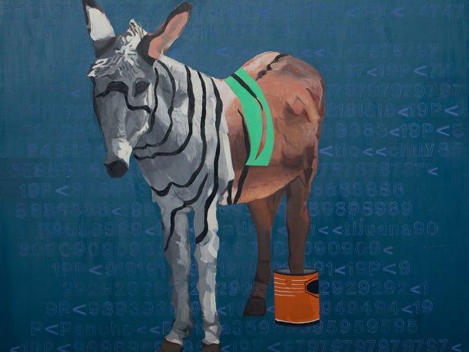'Half-ass Donkey' by Albert Lopez.