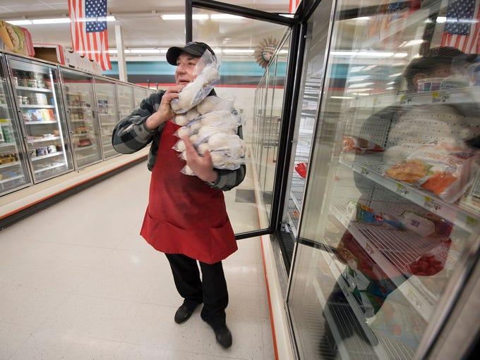 Richard Sotorus has been working at Wetzel's Market
