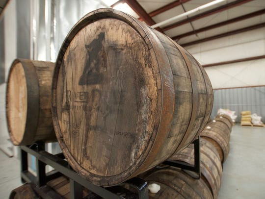 Barrels are used to age the beer to get character from