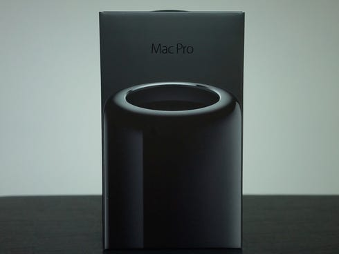 The MacPro box.