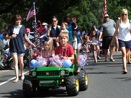 Children's Fourth of July Parade
