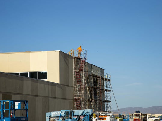 Tohono O'odham Nation's West Valley casino takes shape near Glendale