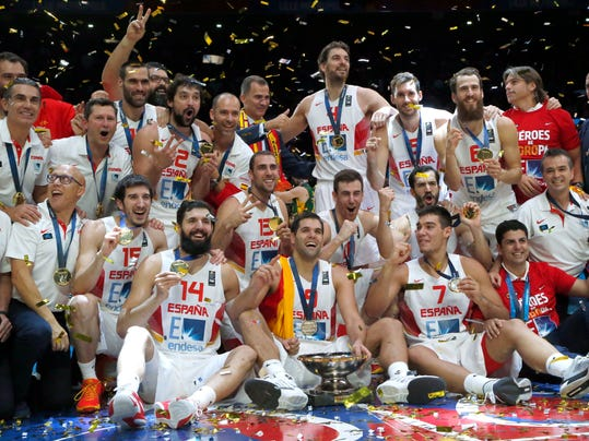 Spain beats Lithuania 80-63 to take Eurobasket title