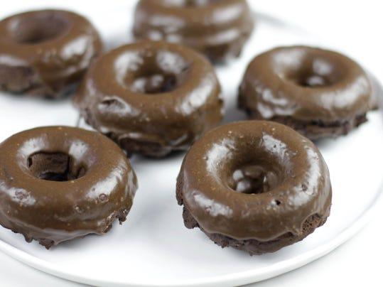 Food Healthy Baked Doughnuts