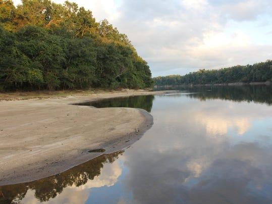 Apalachicola River evening by Doug Alderson