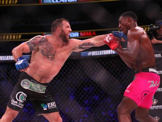 MMA: Bellator NYC-Davis vs Bader