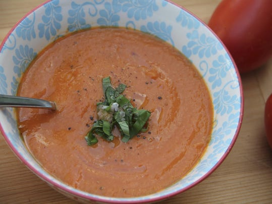 Food Healthy Creamy Tomato Soup