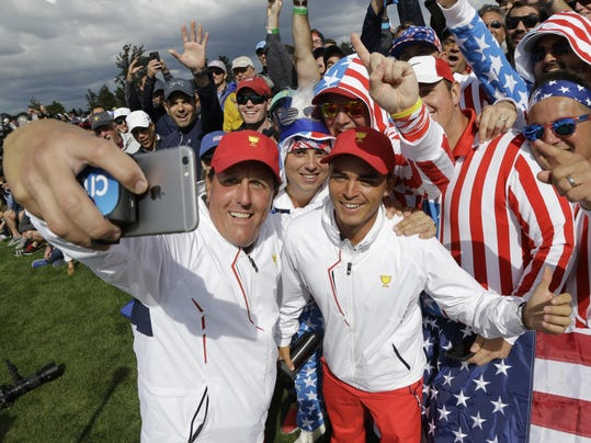 Phil Mickelson,Rickie Fowler