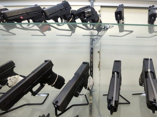 AP Poll Guns In America