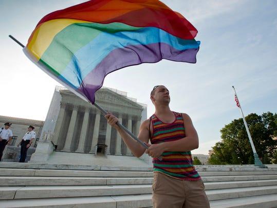 AP SUPREME COURT GAY MARRIAGE A FILE USA DC