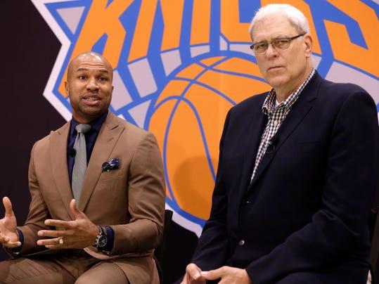 Knicks Fisher Basketball