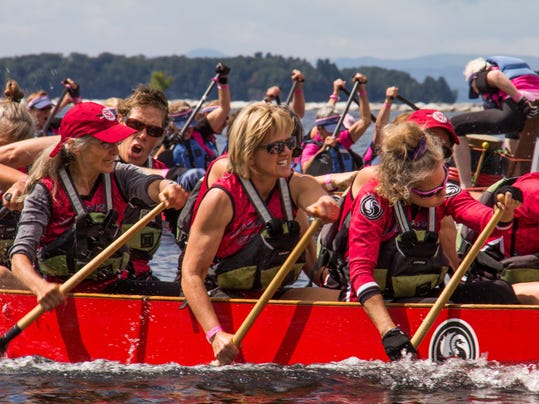 Vermont women and supporters paddle for health and healing