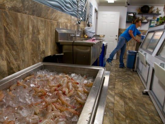 Gulf shrimp rake in money, rave reviews
