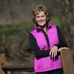 Kaye Reinke, who has battled cancer for 11 years, will be walking in Saturday's Sole Burner in Appleton.