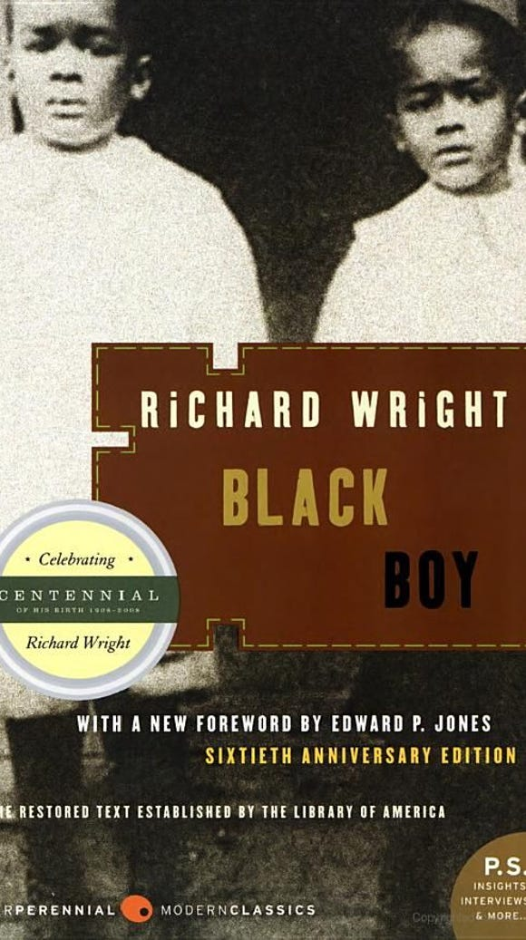 "Richard Wright's memoir, ""Black Boy,"" went to top of the bestseller list in 1945."