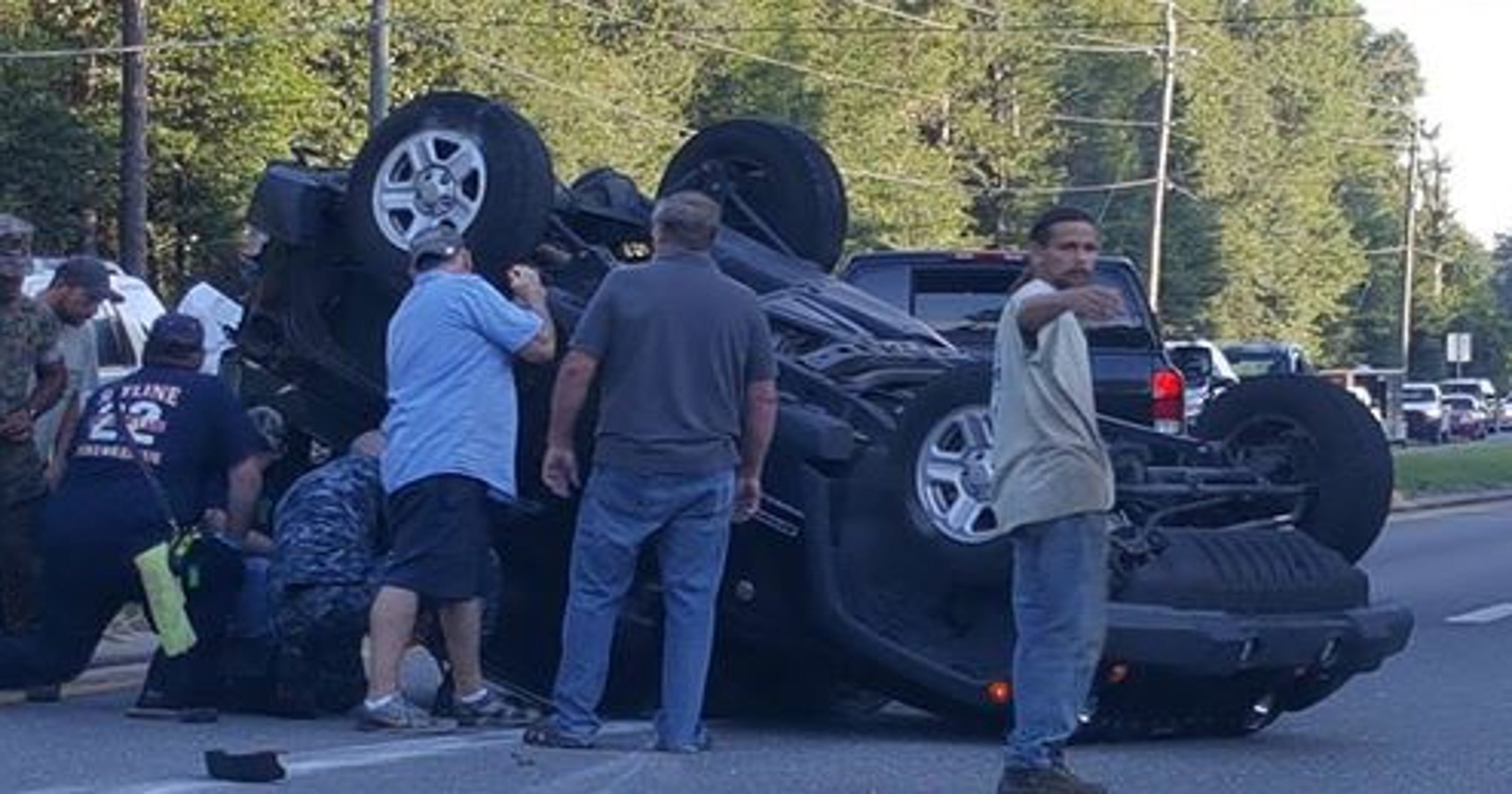 Santa Rosa car crash: Woman ran stop sign, caused rollover