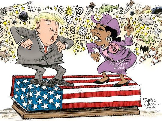 Daryl Cagle, CagleCartoons.com, drew this editorial