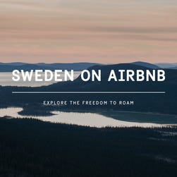 Sweden puts entire country up on Airbnb