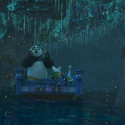 First look: Po kicks again at Universal Studios with  'Kung Fu Panda: The Emperor's Quest'
