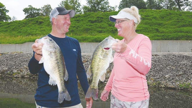 Fishing brought Jim and Denise Dill together and drew them to making Lake of the Ozarks their home.