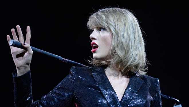 """Taylor Swift says most artists can't afford to share their music free for three months on Apple Music. """"Three months is a long time to go unpaid, and it is unfair to ask anyone to work for nothing."""""""