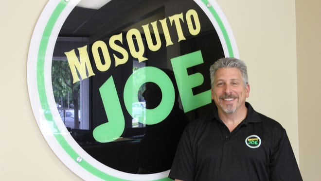 Rick Kagen, of Huntington Woods, the owner of a Mosquito Joe franchise in Warren.